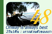 เกาะ Ohway is always best